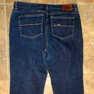 Lauren Jeans Co. LRL CLASSIC STRAIGHT CROP JEANS